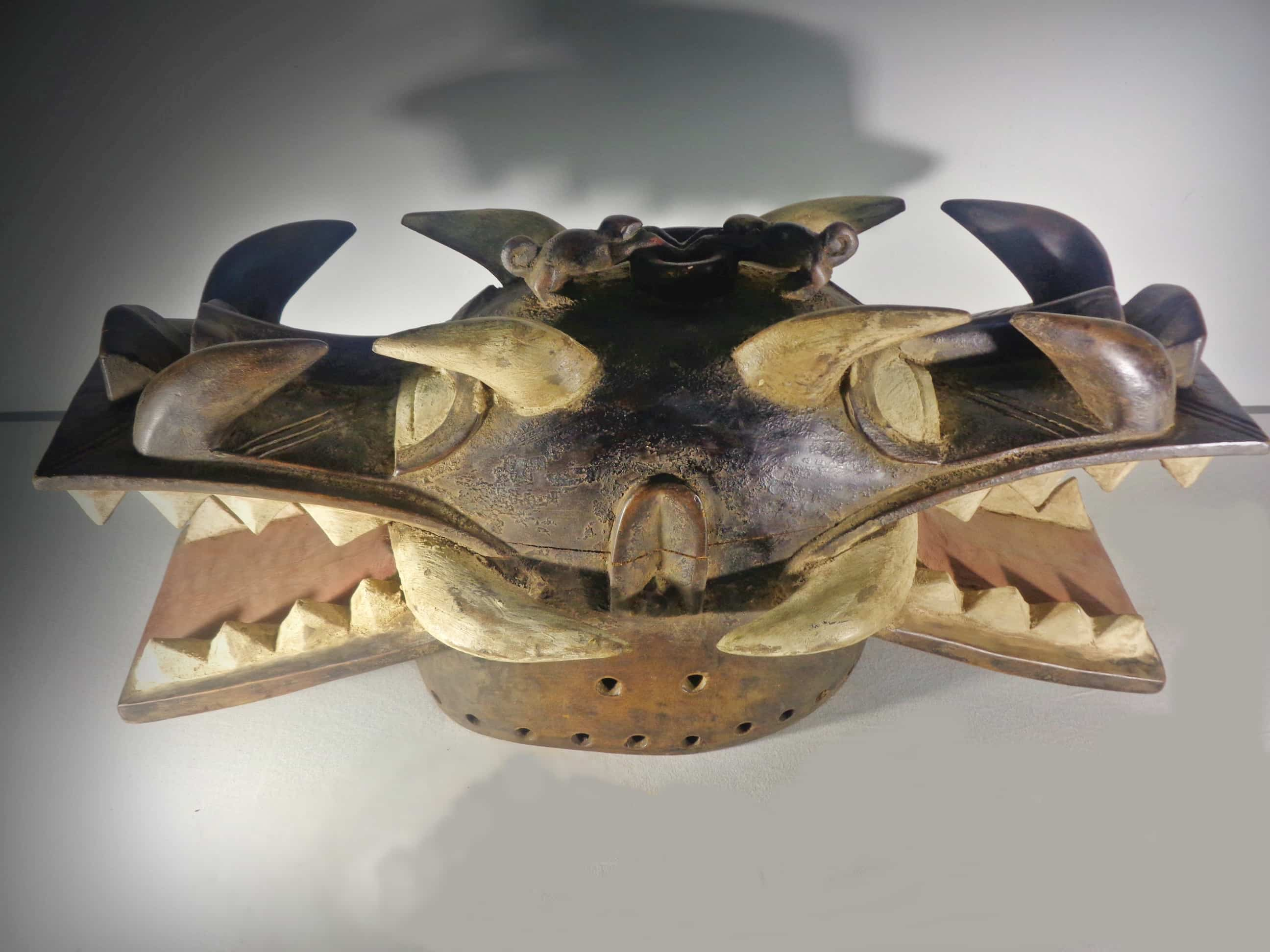 Janus Helmet Mask (Wanyugo), Senufo, Mali